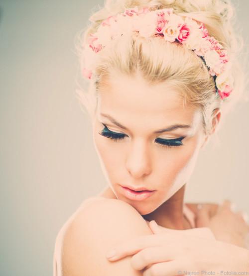 Haarschmuck einer Braut - Marrying